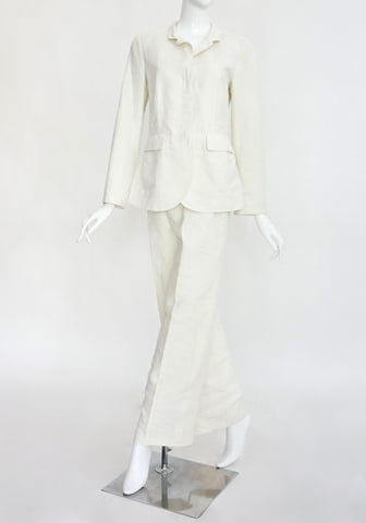 Giorgio Armani White Set Jacket 42