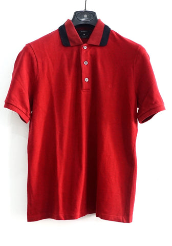 Gucci Red Polo Shirt