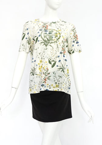 Tory Burch Floral Printed T-Shirt S