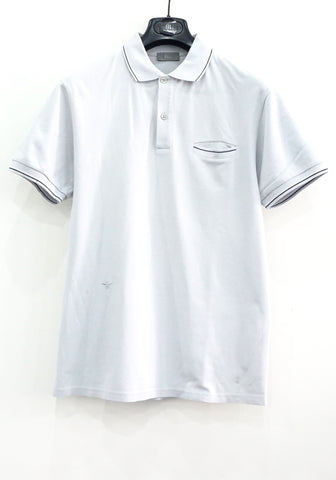 Dior Light Grey Polo Shirt