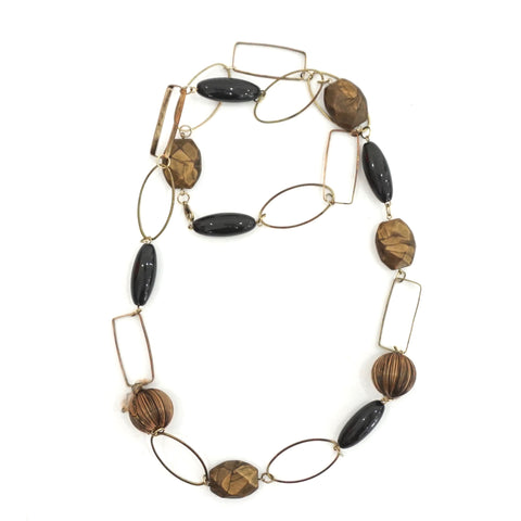 Marni Metal Hoops Necklace