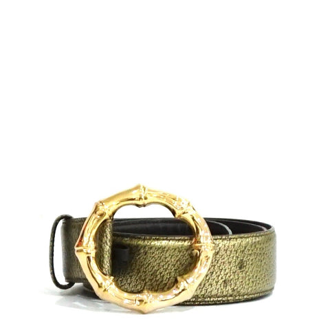 Gucci Gold Bamboo Belt