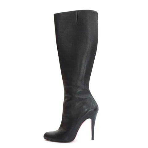 Christian Louboutin Knee High Leather Boots 36