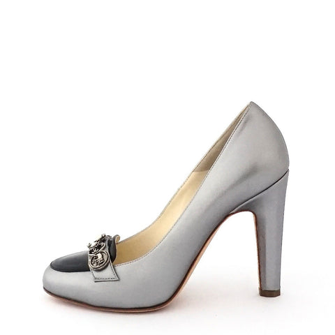 Chanel Silver Pumps 36.5