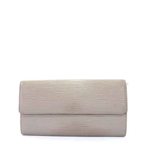 Louis Vuitton Taupe Long Wallet