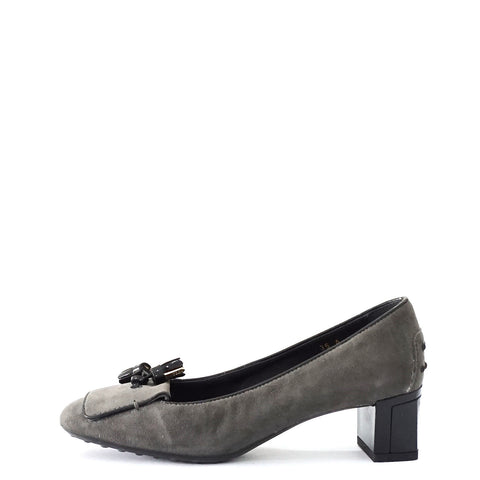 Tods Grey Suede Pumps 35