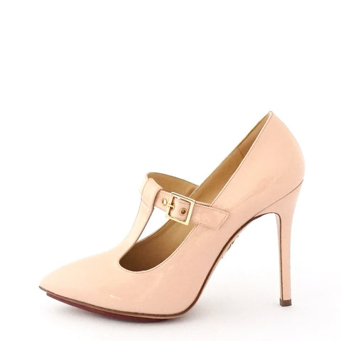 Charlotte Olympia Nude Pumps 37.5