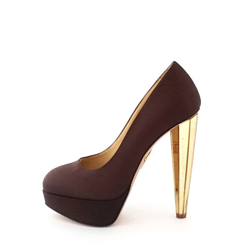 Charlotte Olympia Brown Pumps 37