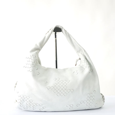 Bottega Veneta White Belly Bag