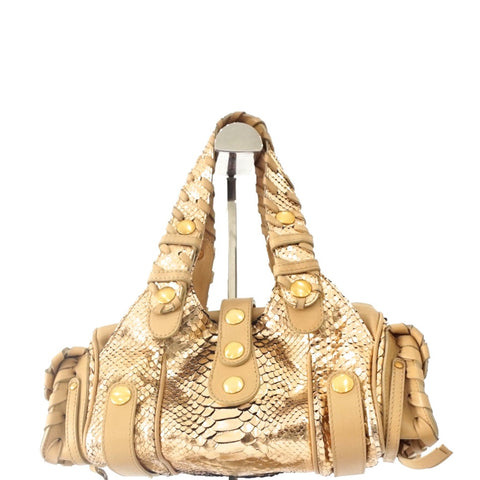 Chloe Rose Gold Hand Bag