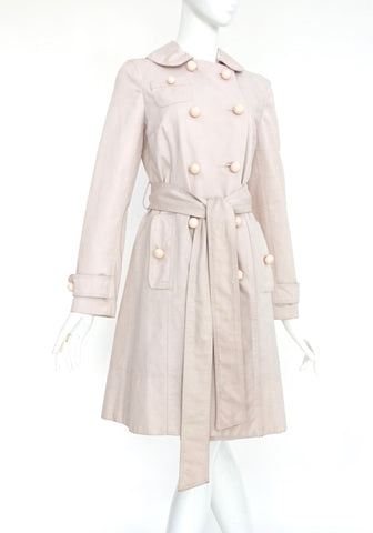 Marc Jacobs Pink Trenchcoat