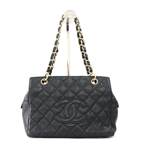 Chanel Black Small GST Shopping Bag