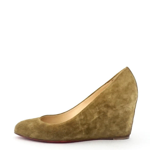 Christian Louboutin Wedge Pumps 38