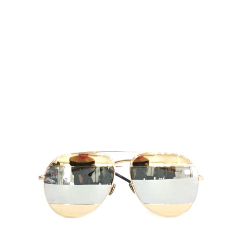 Dior Mirror Gold Sunglasses