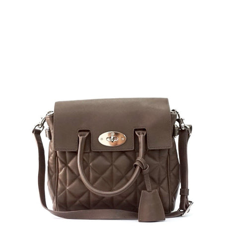 Mulberry Brown Cara Delevinge Leather Backpack