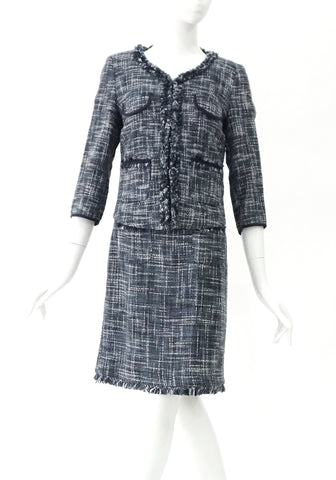 Max & Co Grey Tweed Dress and Jacket 38