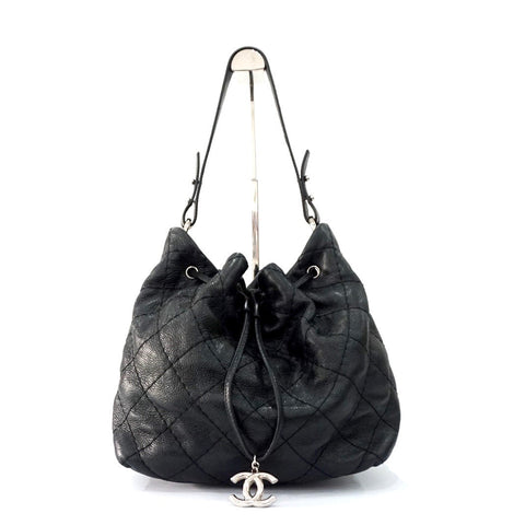Chanel Black Bucket Bag