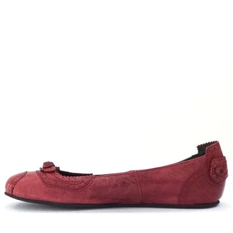 Balenciaga Rose Red Ballet Flats 39,5