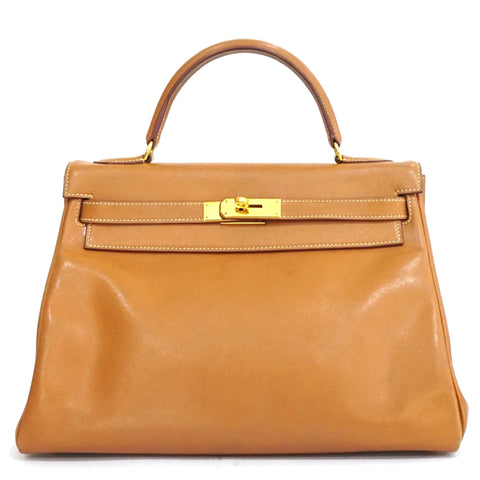 Hermes Kelly Retourne 32 Gold Swift GHW