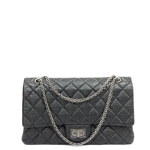 Chanel Black Reissue Silver Hardware