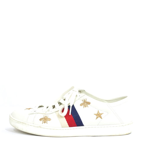 Gucci Bees and Stars Ace Sneakers 36.5