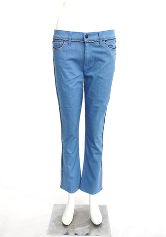 Tory Burch Blue Denim 28