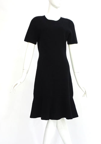 Balenciaga Black Cocktail Dress 40