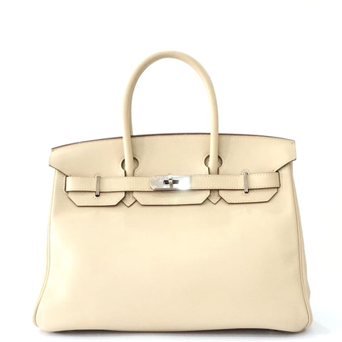 Hermes Birkin 30 Parchemin Veau Swift PHW