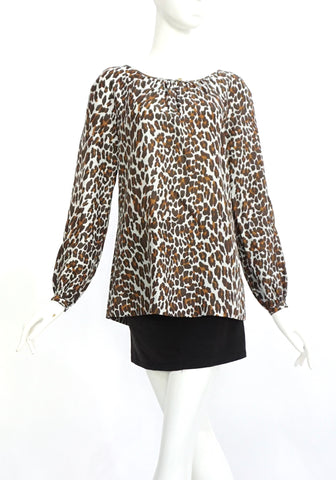 Tory Burch Leopard Top 6