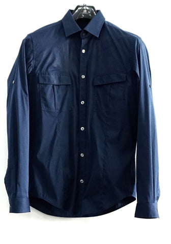 Hugo Boss Navy Shirt
