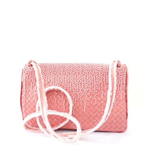 Bottega Veneta Limited Edition Pink Sling Bag