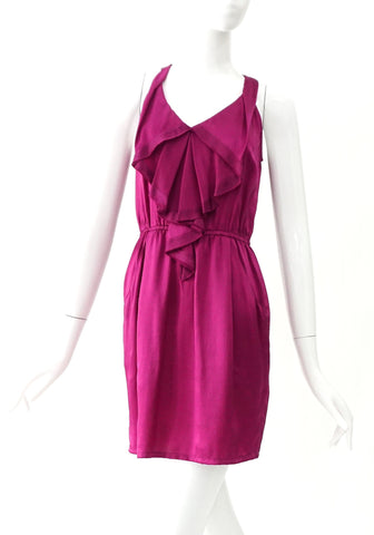 Rebecca Taylor Purple Sleeveless Dress 0