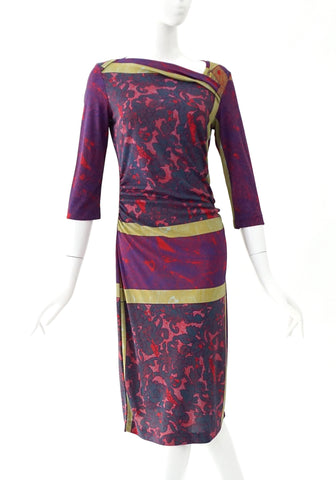 Etro Multicolor Printed Dress (42)