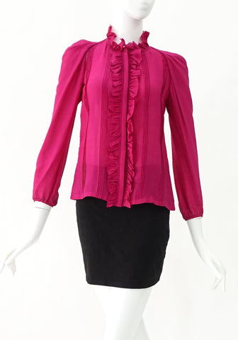Vanessa Bruno Fuschia Longsleeves Tops 34