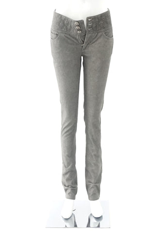 Chanel Grey Denim 38