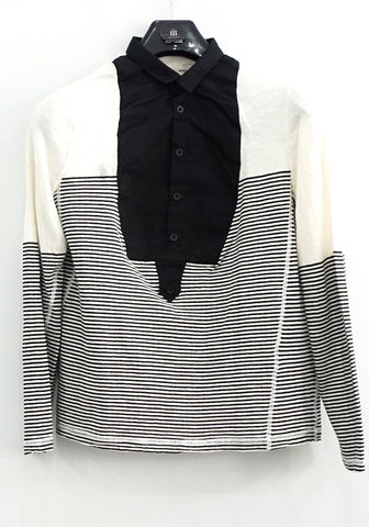 Yigal Azrouel Stripe Long Sleeves Shirt