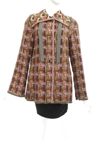 Missoni Multicolor Tweed Vintage Jacket 42