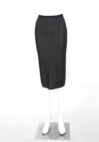 Roland Mouret Black Pencil Skirt US 2