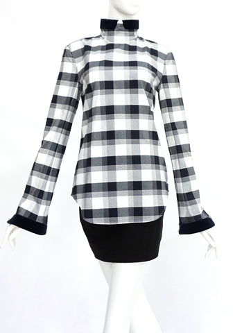 Thom Browne Black and White Top 1