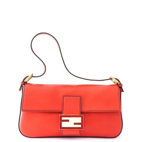 Fendi Bagguete Red Bag