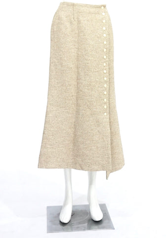 Rossi Assoulin Tweed Skirt 0