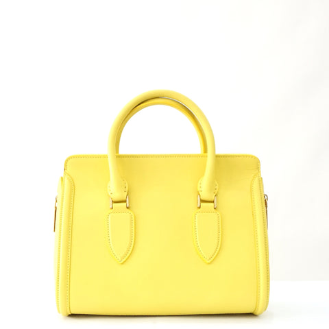 Alexander Mcqueen Yellow Heroine Bag