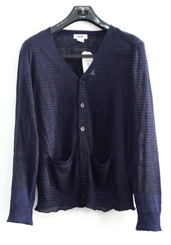 Acne Navy Stripe Light Cardigan