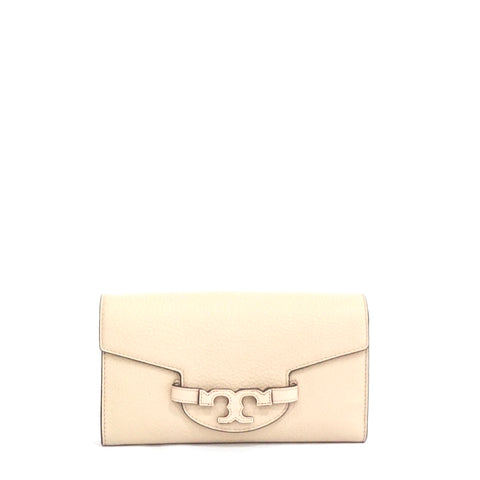 Tory Burch Creme Lena Clutch