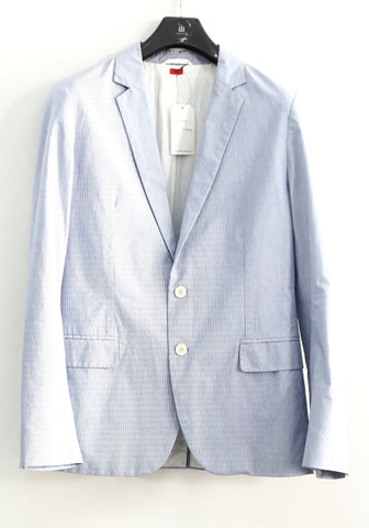 Hugo Boss Light Blue Stripe Blazer