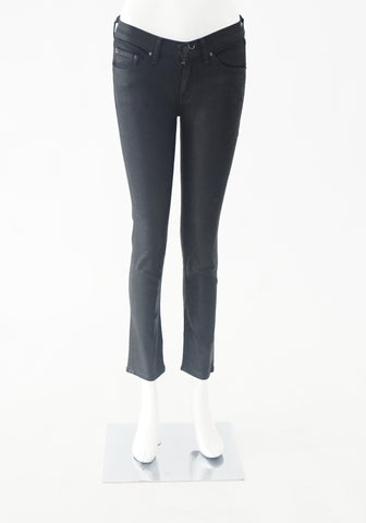 Rag and Bone Black Capri Jeans (Size 26)