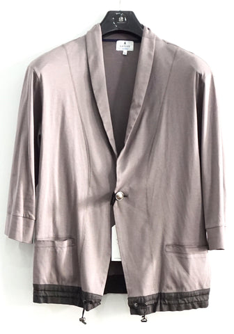 Lanvin en Bleu Taupe Light Jacket