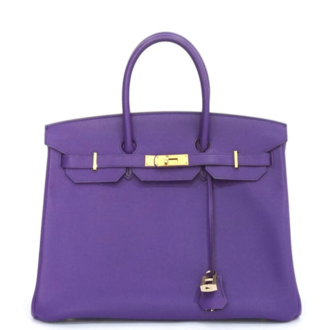 Hermes Birkin 35 Crocus Epsom GHW PRCIE BY REQUEST