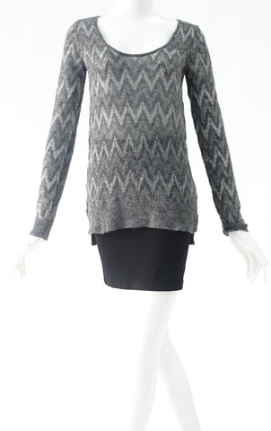 Grey wool sweater (size S)