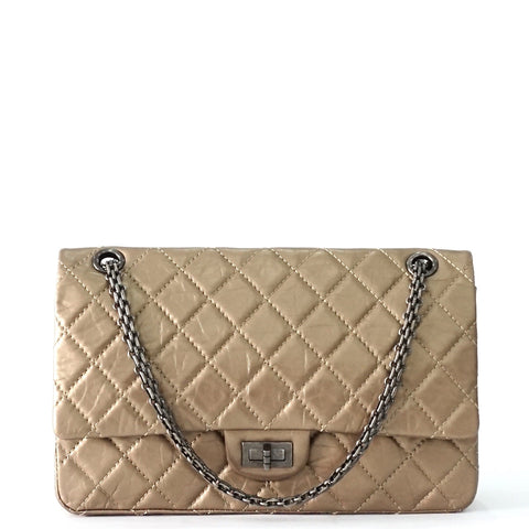 Chanel Bronze Lambskin Reissue 2.55